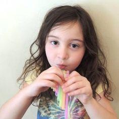 Straw Pan Pipe Craft for Kids