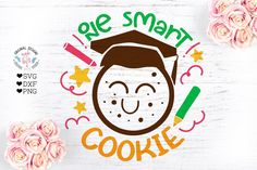 One Smart Cookie Cut File A closer look at the file formats: SVG FILES: SVG Files are suitable for Cricut cutting machine and other cutting machines such as One Smart Cookie, School Decorations, Teacher Appreciation, Etsy App, Project Yourself, Cutting Files, Vinyl Designs, School Design, Design Bundles