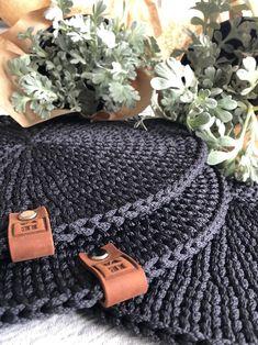 Crochet Carpet, Crochet Rope, Love Crochet, Knit Crochet, Crochet Table Mat, Crochet Placemats, Crochet Potholders, Crochet Home Decor, Crochet Crafts