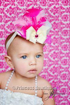 Baby Top Hats - Mini Top Hat Headbands - Baby Fashion Hats: Princess Bowtique