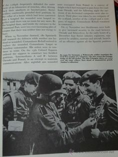 Militaria: GERMANY´S SPANISH VOLUNTEERS 1941-1945. THE BLUE DIVISION IN RUSSIA (DIVISIÓN AZUL, EN INGLÉS) - Foto 4 - 37391550