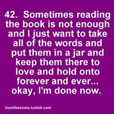 Bookfessions...writing to be read involves the readers with captivating words put together in captivating sentences, paragraphs, chapters.