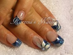 Blues nail photos