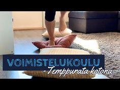 (12) LAPSET - voimistelukoulu, temppurata kotona - YouTube