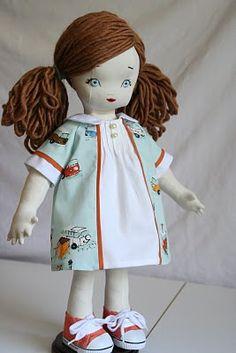 pretty face rag doll