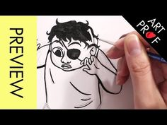 Art Prof: Video Courses in Drawing, Painting, Printmaking, & Sculpture Design Tutorials, Art Tutorials, Character Drawing, Character Design, Photoshop Youtube, Portrait Cartoon, Bristol Board, Gesture Drawing, Cartoon Faces
