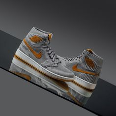 low cost a069e 006c5 AJ 1 Wolf Grey Flyknit Jordan 1, Release Date, Air Jordans, High Tops