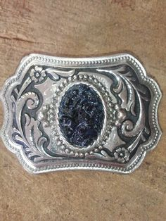 West Virginia Coal Jewelry Cool Belt Buckle made with REAL WV COAL! www.wvcoaljewelry.com