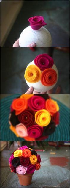 felt flower 7