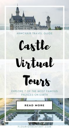 Being stuck indoors doesn't have to stop you from seeing the most famous residences in the world! These impressive virtual castle tours will transport you, with an exclusive look at some of the… Virtual Museum Tours, Virtual Tour, Beautiful Castles, Beautiful Sites, Virtual Field Trips, Virtual Travel, Famous Castles, Camping, Walking Tour