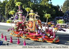 Tournament of Roses Parade ... so gorgeous!