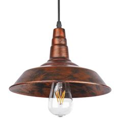 Sunsbell® Industrial Retro Vintage Loft Wall Coffee Bar Lighting Fixtrure Sconce Pendant Ceiling Lamp Fixtures Light Shades for Edison Bulbs(Brown, bulb is not included) Rustic Light Fixtures, Bar Light Fixtures, Lighting, Light Fixtures, Bar Lighting, Light Shades, Industrial Lamp, Pendant Ceiling Lamp, Lamps Fixtures