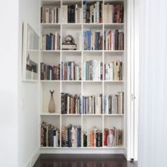 love this idea for end of hallway