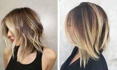 Nos Meilleures idées de Cheveux Mi-longs Pour La Nouvelle saison | Coiffure simple et facile