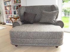 Spectacular Big Ohrensessel Kolonialsessel Sessel mit Federkern Sofa Shabby Chic in M bel u Wohnen M bel