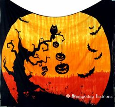 Indian Spooky Halloween Dorm Wall Hanging Haunted Home Decor