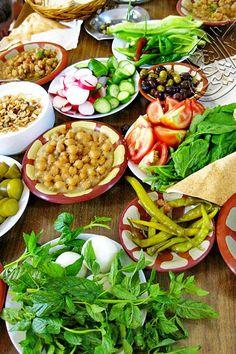 Syrian breakfast