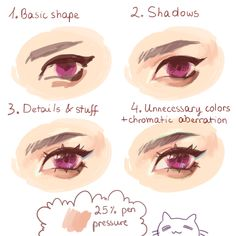 Color Pencil Drawing Tutorial Eye tutorial that eye did for you guys (ik my humor is lame stfu) - Eye Drawing Tutorials, Digital Painting Tutorials, Digital Art Tutorial, Drawing Techniques, Art Tutorials, Drawing Tips, Coloring Tutorial, Poses References, Art Reference Poses