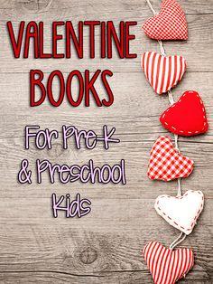 Valentine Books for Pre-K and Preschool