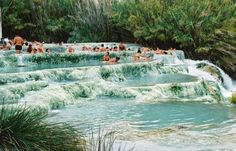 Saturnia is a spa village in Tuscany (in the area known as Maremma) in north-central Italy that has been inhabited since ancient times. The village is located an hour away from Siena, 200km from Florence, an hour and ahalf from the city of Rome, and quite close to the sea.The amazing sulfur springs,