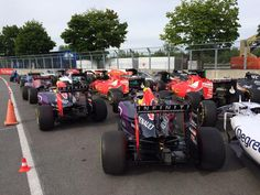 Parc ferme Montreal style