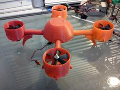 Ducted Fan Quad Copter by InlineTwin.