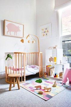 Pastel nursery.