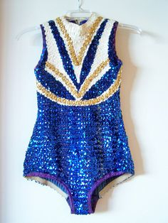 Vintage Sequined Majorette / Twirler Bodysuit by polishedtwo, via Flickr