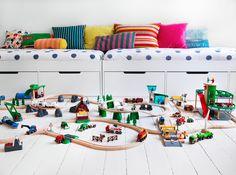 Bright! Fun! Functional! Everything a #playroom should be www.kidsdinge.com https://www.facebook.com/pages/kidsdingecom-Origineel-speelgoed-hebbedingen-voor-hippe-kids/160122710686387?sk=wall #kids