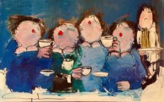 Tea time By Gerdine Duijsens