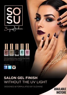 WIN! Attend The Official Launch of SOSU by Suzanne Jackson! Suzanne Jackson, My Perfect Wedding, Best Day Ever, Gel Polish, Salons, Portugal, Product Launch, It Is Finished, Makeup
