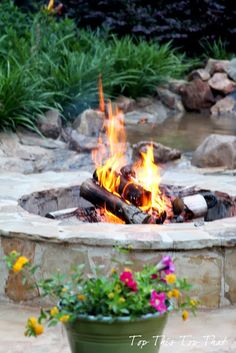 Top This Top That: Repurposing the Fire Pit