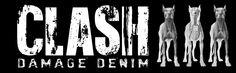 clash damage denim, model, denim, brand, punk, urban, goth, dark, do it yourself, fashion, riot city, producto original, amor a los animales