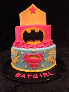 Batgirl's 2nd birthday cake