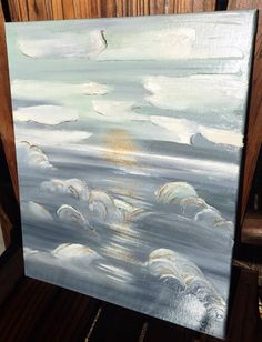 16 x 20  Through the Clouds by SarahKKreations on Etsy