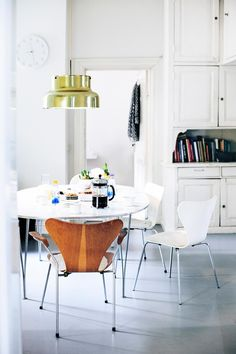 Dining Chairs, Dining Room, Dining Table, Interior Decorating, Interior Design, Scandinavian Home, Anna, Lily, Vintage