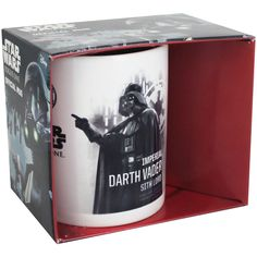 Buy Star Wars Rougue One Darth Vader Profile Mug  online from The Works. Visit now to browse our huge range of products at great prices.
