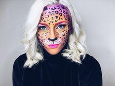 Lisa Frank Leopard Makeup @alexxelder