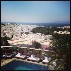 Belvedere Hotel Mykonos. Photo credits: @VickyAle Schauffert Vicky Lee, Mykonos, Cyprus, Photo Credit, Affair, Paris Skyline, Greece, Places To Go, Pictures
