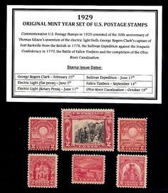 1929 YEAR SET OF VINTAGE MINT U.S. POSTAGE STAMPS - GREAT 86th BIRTHDAY GIFT http://united-states-tourist.info/it/si/?query=221916770248…