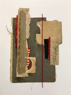 """The Possibility of Change,"" salvage collage by Dayna J. Collins."