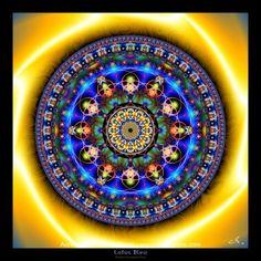 Lotus Bleu - Mandalas