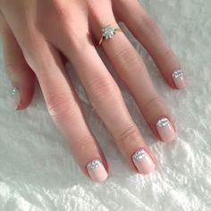 Stunning, Simple Elegant! 3 New Bridal Manicures That Put Classic French Tips To Shame | The Zoe Report