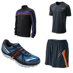 Brooks running gear for guys #spring @FitBottomedGirl #RUGGEDGEAR