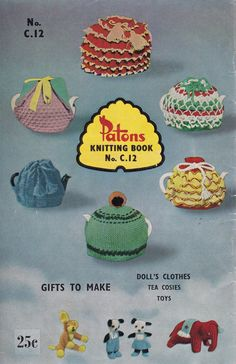 Patons C12 Vintage 1960s Knitting & by allthepreciousthings,