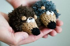 Seriously cute crochet toys. Too bad I can't read the blog.