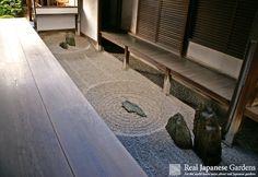 Ryōgen-in (Daitoku-ji), Zen garden from the Muromachi period (大徳寺龍源院)   Real Japanese Gardens