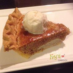 Yummy! Gluten Free Pear and Almond Pie: Dream Dessert (my recipe, delicious!) Go to: https://www.ivysgardenfood.com/gluten-free-pear-and-almond-tart-dream-dessert/