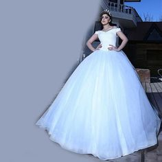 Find More Wedding Dresses Information about Elegant Romantic Ball Gown Off the Shoulder Satin Wedding Dresses 2016 vestidos de novia Long Brazil Garden Bridal Gowns LW2,High Quality gown bag,China gown design Suppliers, Cheap gowns cheap from LaceBridal on Aliexpress.com