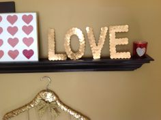 How to Create Sequin Letters